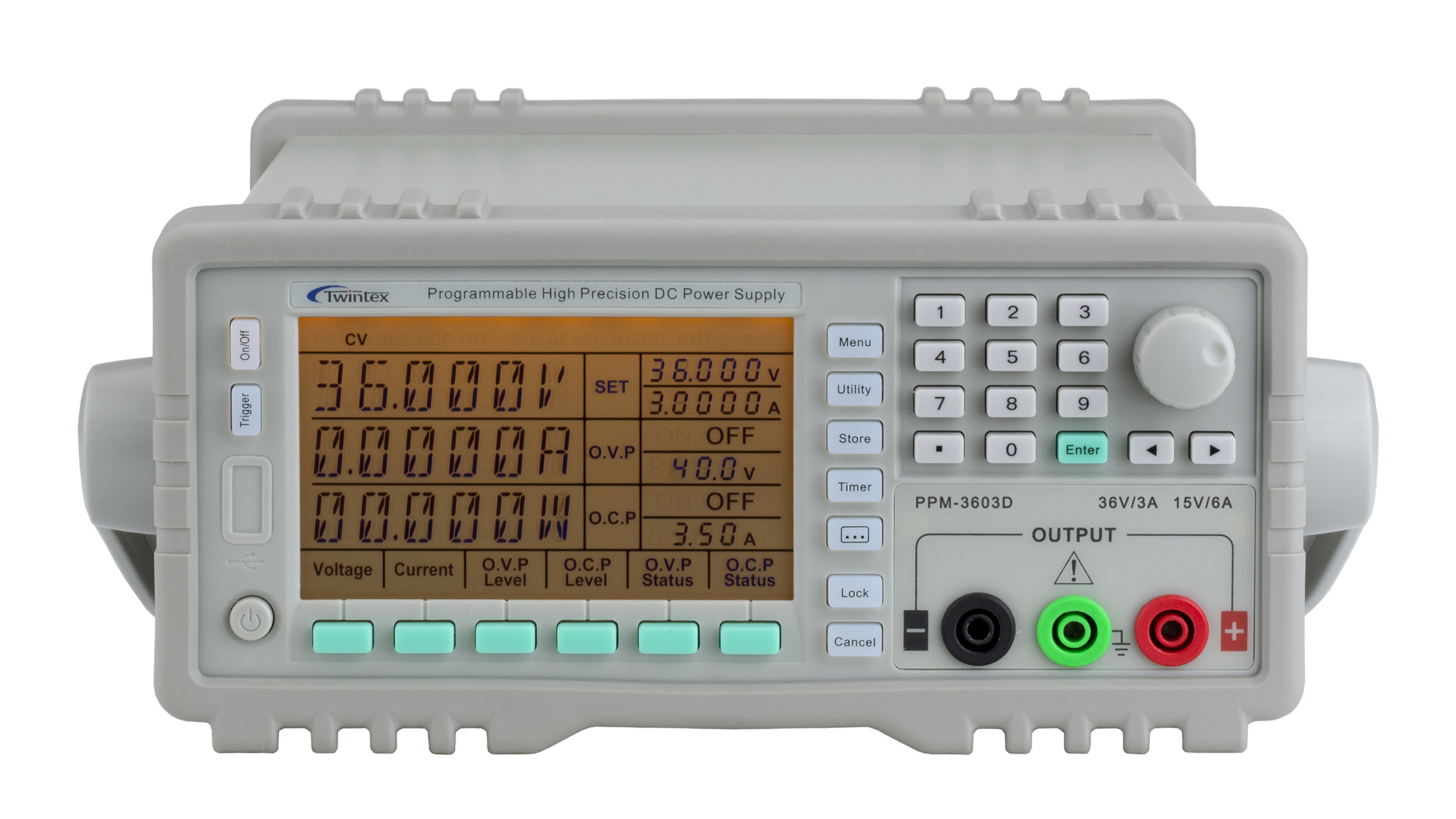 Single Output Programmable Linear DC Power Supply PPM_Series(108W-180W)