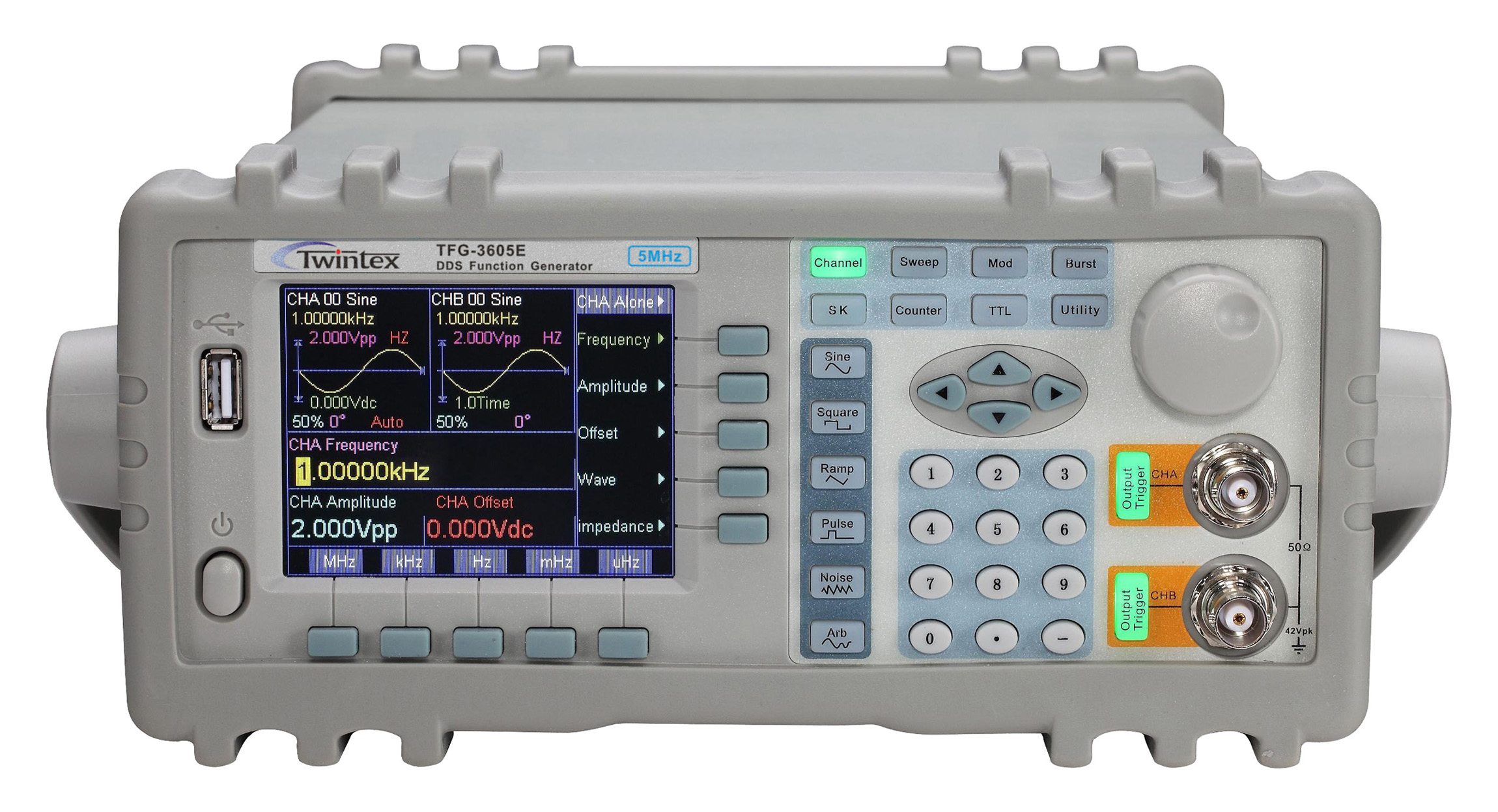 Arbitrary Waveform Generator : Low cost arbitrary waveform function generator tfg e series