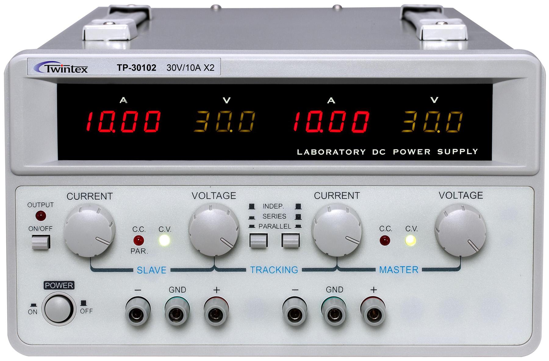 Dual Output Linear DC Power Supplies TP600W_2CH_Series