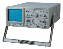 Low-Cost Analog Oscilloscope with Component Tester